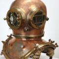 vintage diving helmets