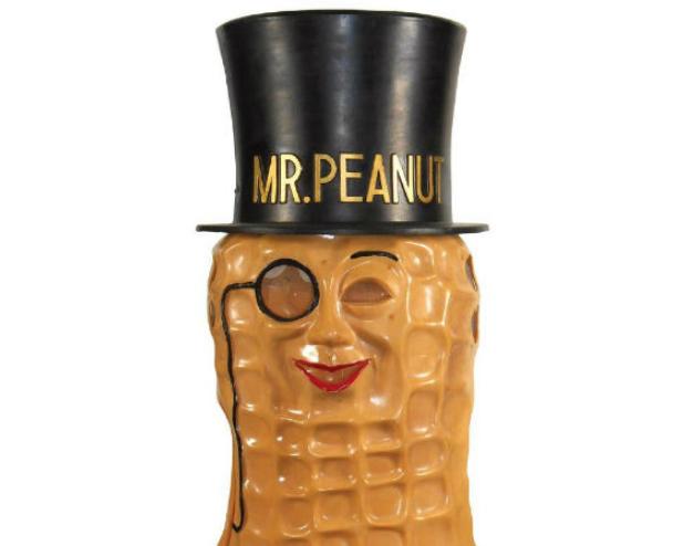 After a century, Mr. Peanut is still a high-stepping ad man