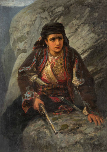 Antebellum daguerreotype