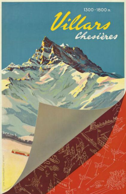 ski posters