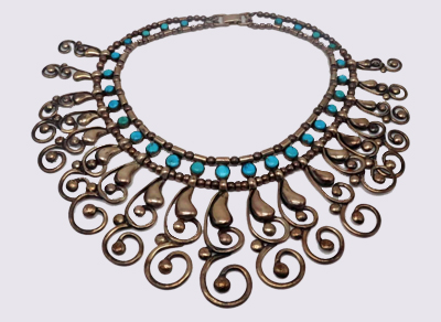 Native American artistry in turquoise jewelry