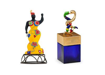Niki de Saint-Phalle: model turned artist