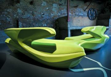 Zaha Hadid Design on display at Harrods until March 1