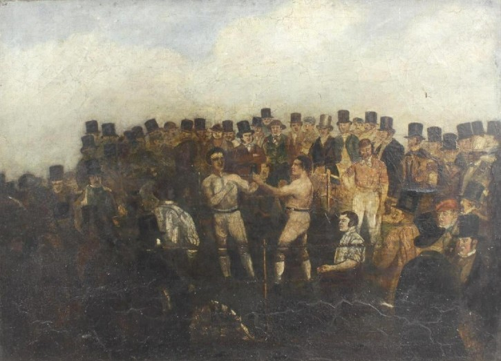 English fight scene