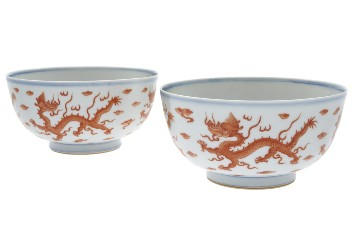 Chinese Kangxi dragon bowls highlight superb Feb. 29 Asian art auction