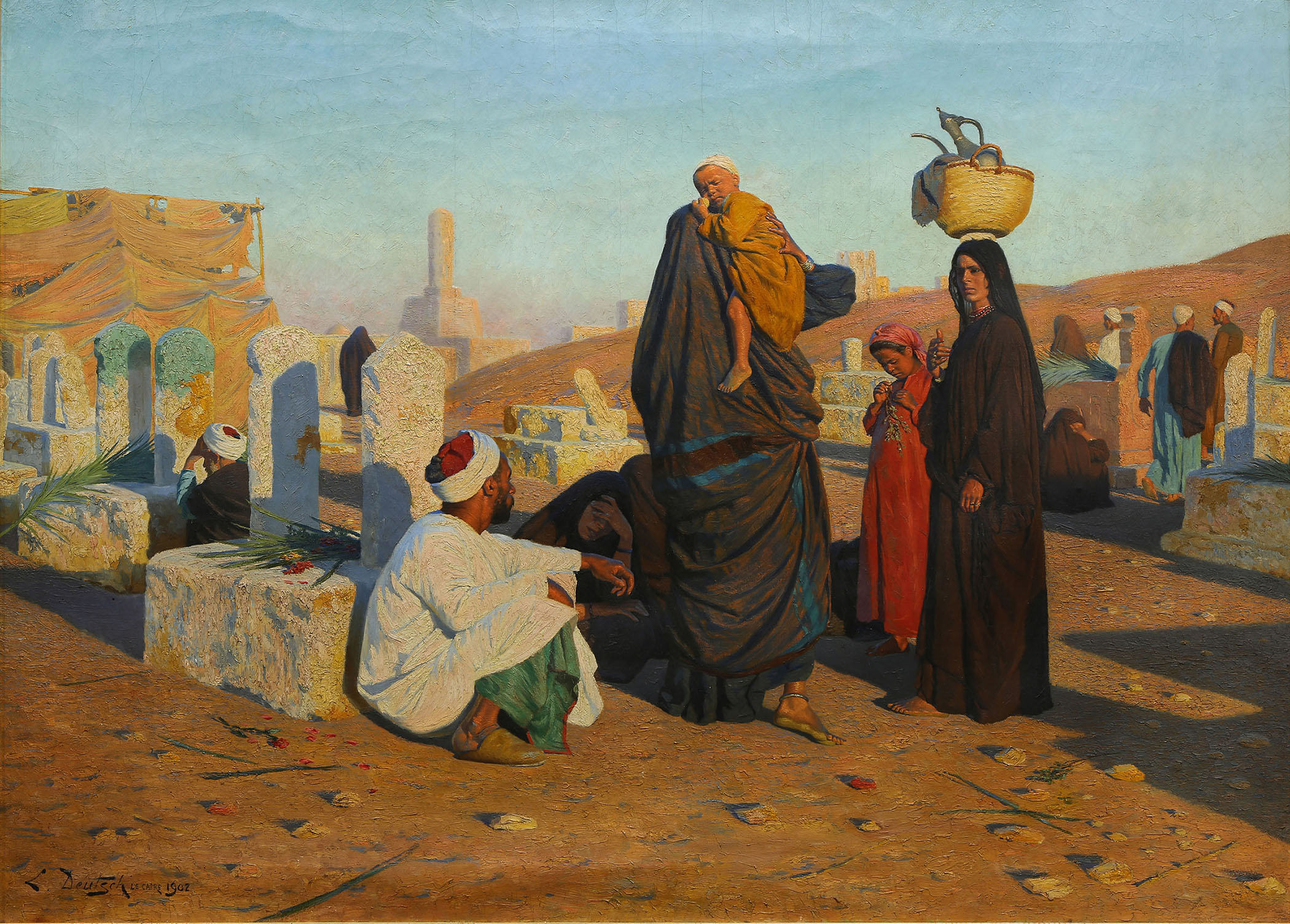Important Ludwig Deutsch painting leads Clars' Feb. 23 auction