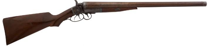 Shotgun used by Wyatt Earp