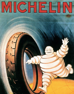 The world never 'tires' of Michelin Man