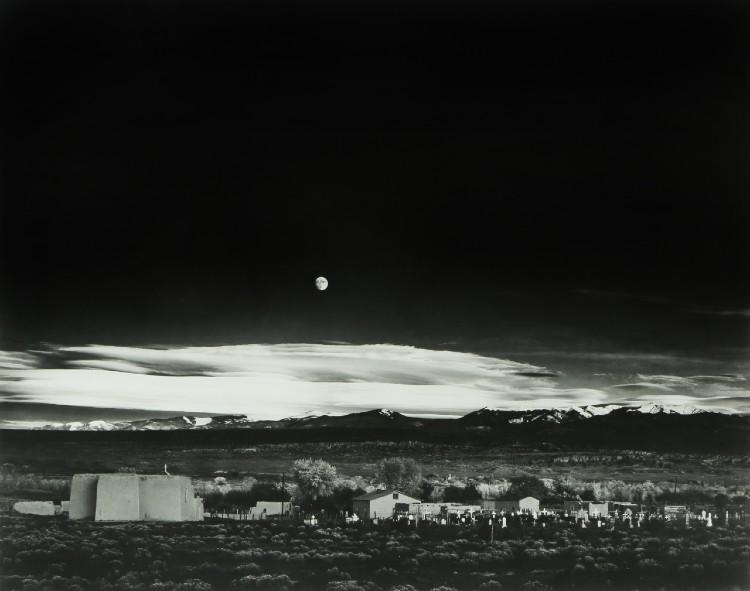 Ansel Adam's 'Moonrise'
