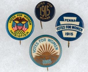 Illinois exhibit marks anniversary of women's vote