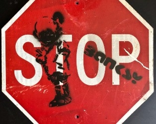 Kensington features Banksy stop sign in March 23 sale