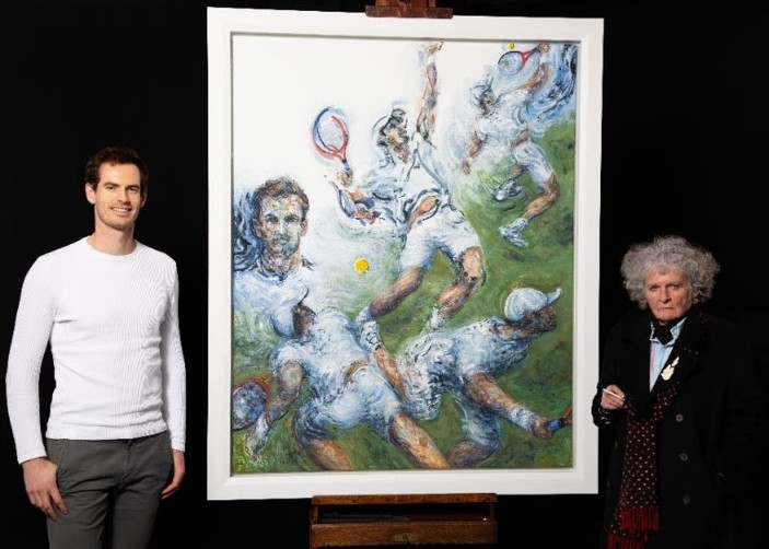portrait of Andy Murray