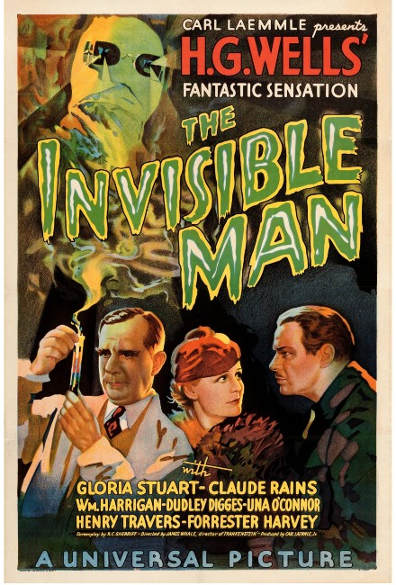 'Invisible Man' movie poster