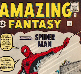 Amazing Fantasy #15, Play Station console top sellers at Heritage auction
