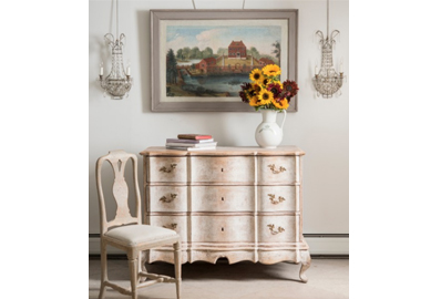 Antique Swedish furniture suits all decors