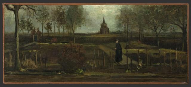 stealing Van Gogh painting