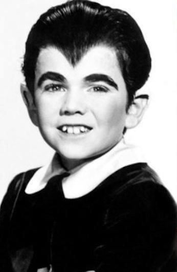 Actor Butch Patrick as Eddie Munster in a publicity photo.