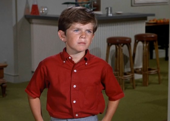 Actor Butch Patrick out of costume and makeup