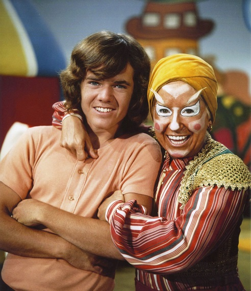 Actor Butch Patrick had his hair cut for his work on comedy television series 'Lidsville'