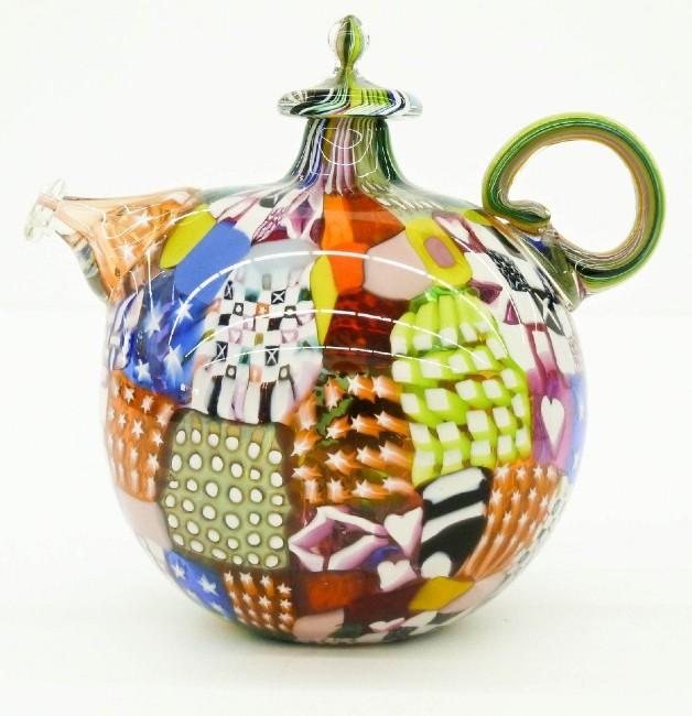 murrine teapots