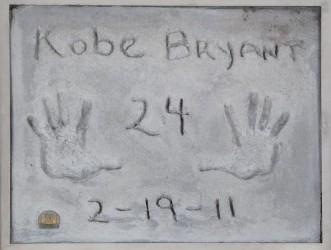 Kobe Bryant concrete handprints score $75K at auction
