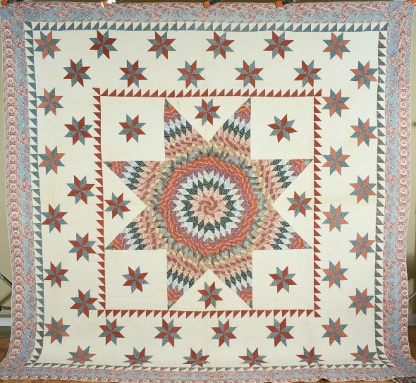 Handmade Antique Quilts Star In Online