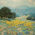 Granville Redmond painting