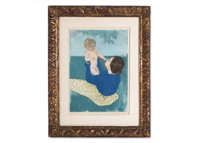 Mary Cassatt: mothers and children
