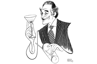 Al Hirschfeld art capturing classic solo performances debuts online May 11