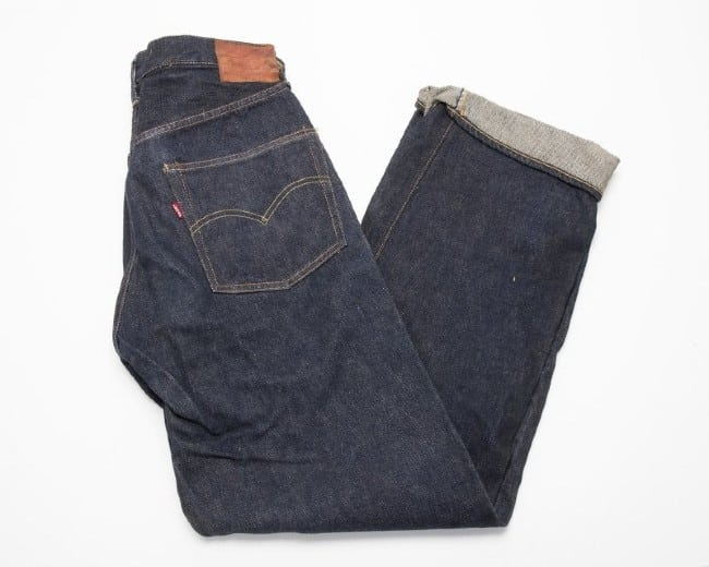 Goldfields spawned Levi's blue jeans