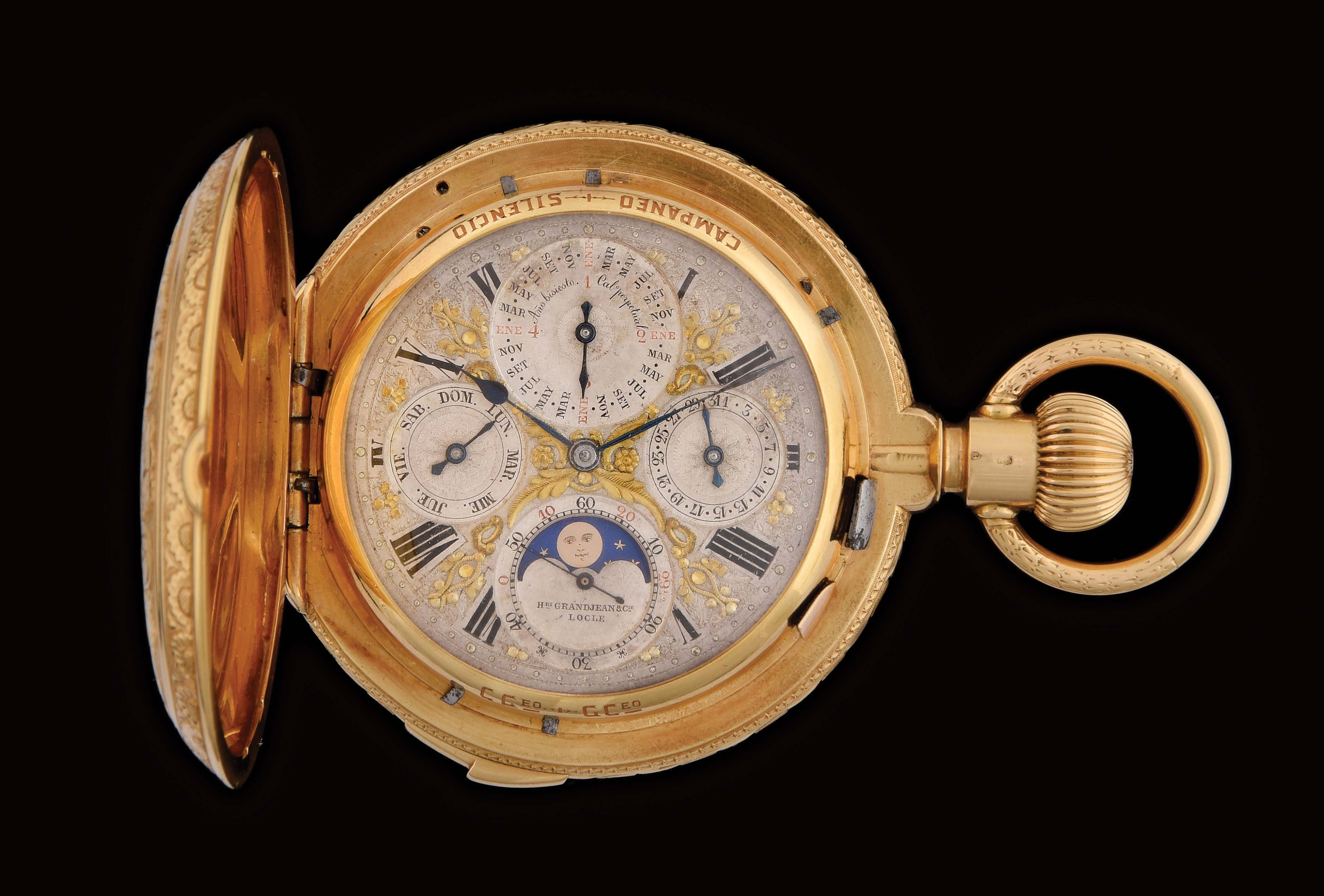Morphy's June 30 auction boasts 650+ gold pocket watches, 250 with complications