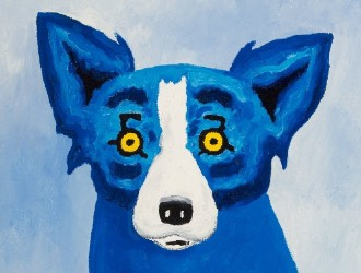 Rodrigue's 'Blue Dog' best in show at Heritage Auctions