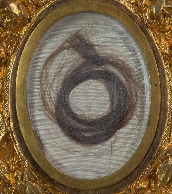 Washington's lock of hair