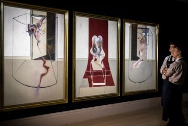 Francis Bacon triptych sells for $84.6M at London auction