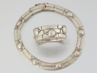 Mexican silver excels at Moran's modern jewelry sale