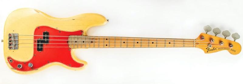 Dee Dee Ramone's Fender bass