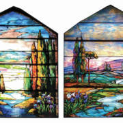 monumental Tiffany window