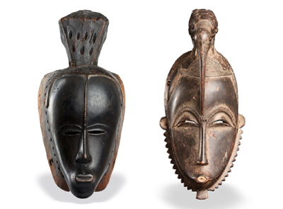 African masks: powerful art objects