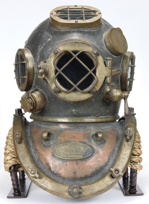 WWII diving helmet