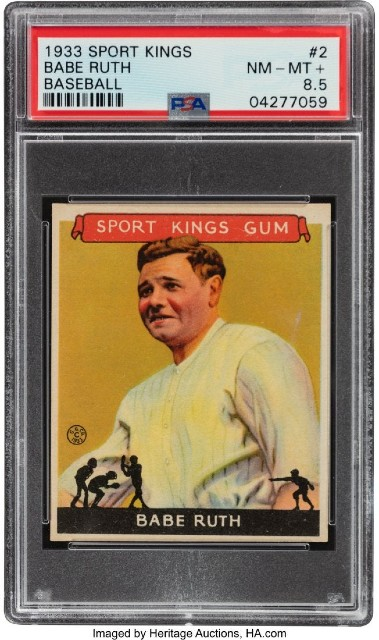 sports cards auction