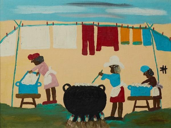 Bob Thompson painting