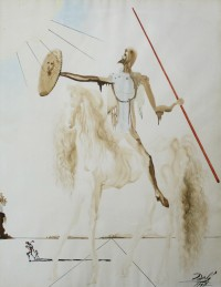 Clars auction July 12 features Salvador Dali watercolor