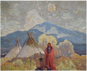 Michaan's features works by Taos & California artists July 25