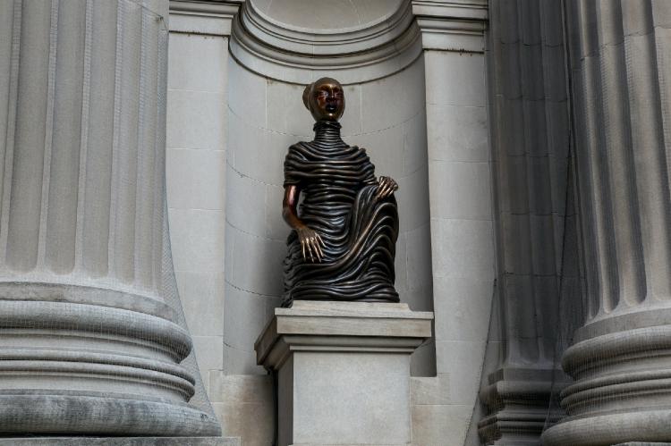 sculptures by Wangechi Mutu