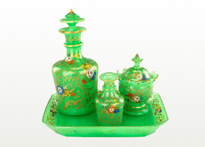 Bohemian glass: beauty is in the details