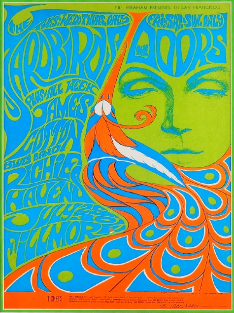 rock concert posters