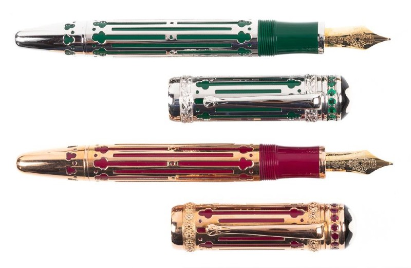 Limited edition pens
