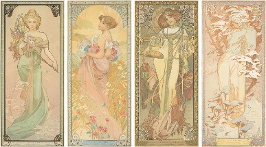 Toulouse-Lautrec, Mucha prevail at poster auction