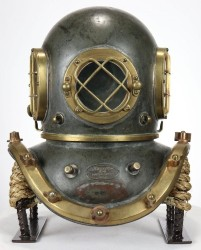 Nation's Attic sets auction record for WWII diving helmet