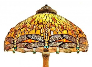 Dragonfly motif prevalent in antiques, art